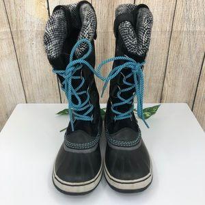 Sorel Tall winter black suede waterproof boots
